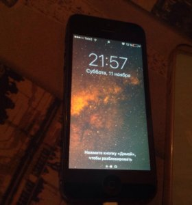 iPhone 5, black, 16 GB
