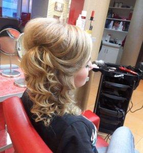 Макияж,причёски,стрижки,окрашивание