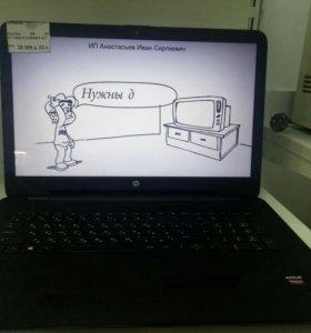 Ноутбук HP 17-Y058UR