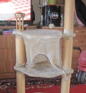 лежак для кошек и когтеточка