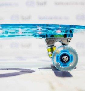Скейтборд ( пенни борд) Skate-BOT NEON