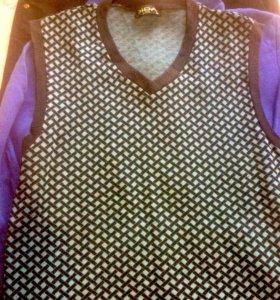 Вещи на подростка(брюки,жилетка,толстовка) s-m