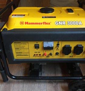 Продам новый  Бензогенератор HammerFlex 3000A