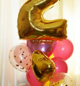 Гелиевые шары, фигуры из воздушных шаров