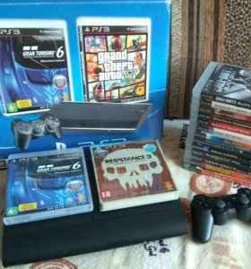 PS3 с дисками