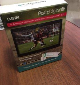 Ресивер цифровой PATIX DIGITAL PT-200 DVB-T/T2