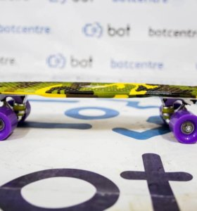 Скейтборд Skate-BOT ART (пенни борд)