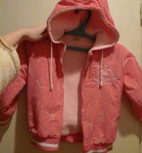 Костюм зимний для девочки (куртка и брюки)