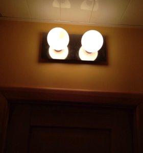 Светильник настенно-потолочный Lussole б/у 1шт