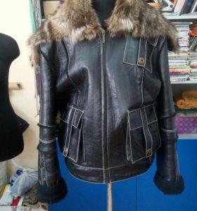Зимняя натуральная куртка!