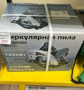 Циркулярная пила practyl GX-MC003 НОВАЯ!