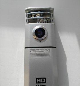 Минивидео и аудиорекордер-диктофон Zoom-Q3HD