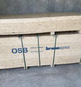 ОСБ плита 1250*2500*9мм «Кроношпан» Влагостойкая