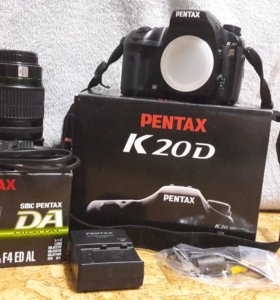 Фотоаппарат Pentax K20D