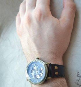 Продаю Часы Winner Luxury Black