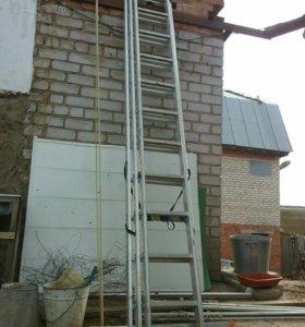 Лестница-стремянка 9 м.