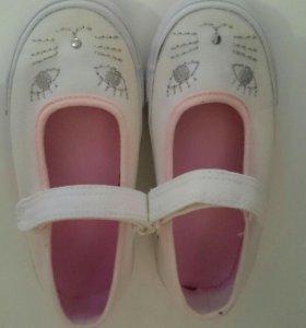 Туфли mothercare 25 размер