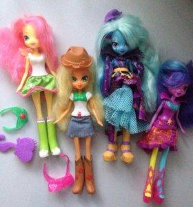 Куклы Девушки Эквестрии (Equestria Girls)