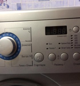 Узкая стиральная машина автомат LG