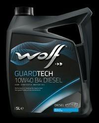 Масло моторное WOLF GUARDTECH 10W40 B4 DIESEL 5 л.