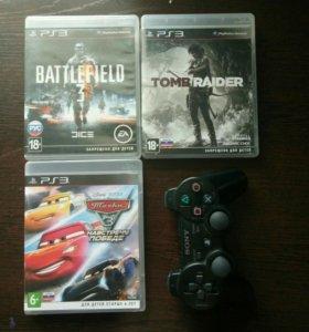 Игры+геймпад PS3
