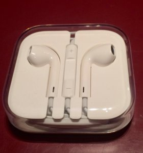 Наушники Apple EarPods- IPhone оригинальные,новые