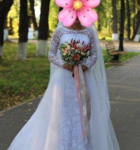 Свадетное платье Трансформер