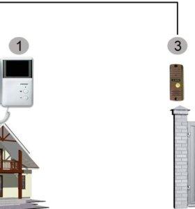Установка домофона в частные дома и многоквартирн