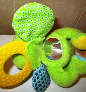 Лягушонок Infantino, игрушка-погремушка