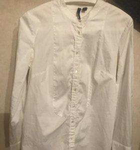 Фирменная рубашка (mango)
