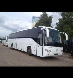 Higer KLQ 6129Q, 49 мест , туристический автобус