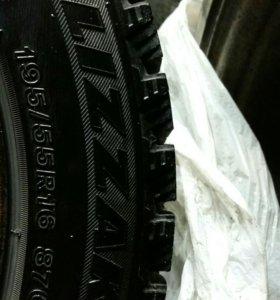 Зимняя резина Bridgestone Blizzak 195/55 r16