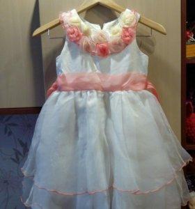 Платье рост 120