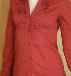 Новая Рубашка Блуза Блузка Bershka. Размер S