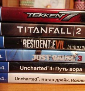 Диски PS4, игры для PlayStation 4