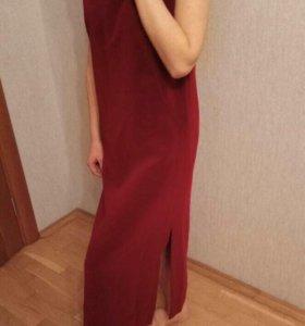 Новое Платье (из бархата ) 46 р