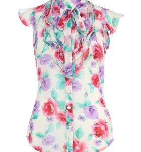 Шифоновая блуза Kira Plastinina
