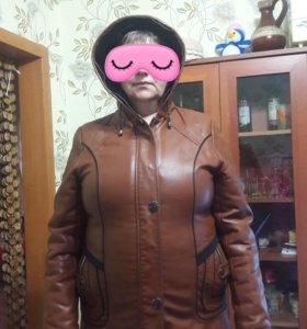 Куртка на меху 🤗