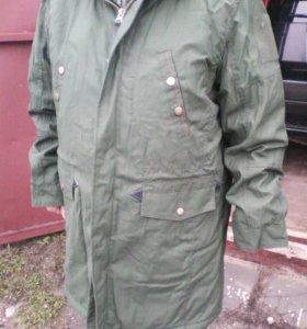 Куртка демисезонная повседневная защитного цвета