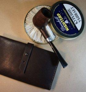 Кошелек мужской бумажник из натуральной кожи.