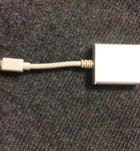 Адаптер Mossi Mini DisplayPort to hdmi