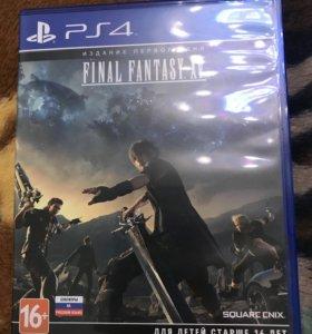 Final fantasy xv для ps4