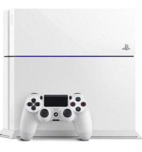Sony PlayStation 4 white ps4