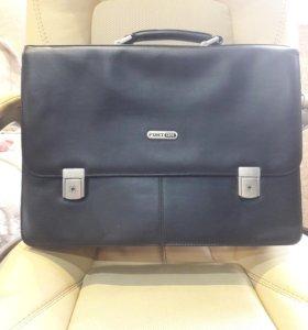 Кожанная сумка(портфель)