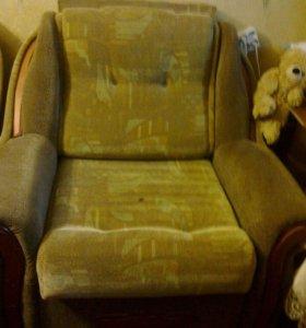 Продаю раздвижное кресло