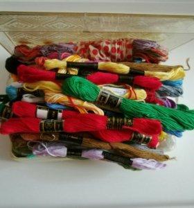 Нитки для вышивания (мулине)