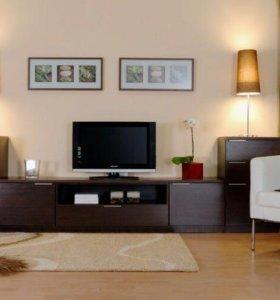 Стенка-тумба под TV