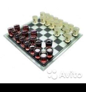 """Игра для взрослых """"Пьяные шахматы """", бу"""