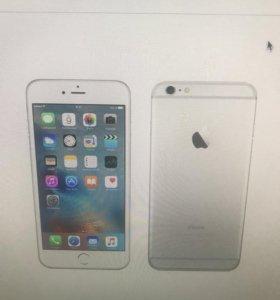 IPhone 6 Plus silver 64 gb