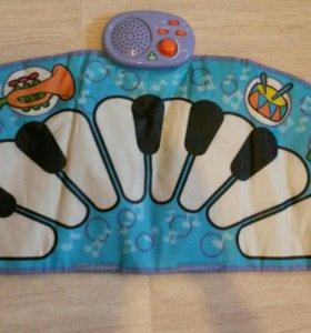 Детское мягкое пианино